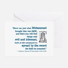 Palaeologus Quotation Greeting Cards (Pk of 10
