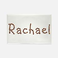 Rachael Coffee Beans Rectangle Magnet