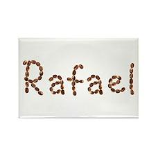 Rafael Coffee Beans Rectangle Magnet