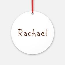 Rachael Coffee Beans Round Ornament