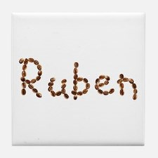 Ruben Coffee Beans Tile Coaster