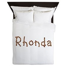 Rhonda Coffee Beans Queen Duvet