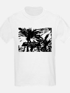 BlacknWhite Palm Springs sign T-Shirt