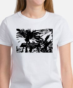 BlacknWhite Palm Springs sign Tee