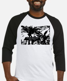 BlacknWhite Palm Springs sign Baseball Jersey