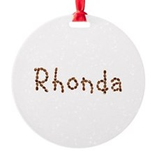 Rhonda Coffee Beans Ornament