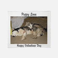 Puppy Love Throw Blanket
