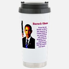 From The Asia Pacific To Africa - Barack Obama Mug