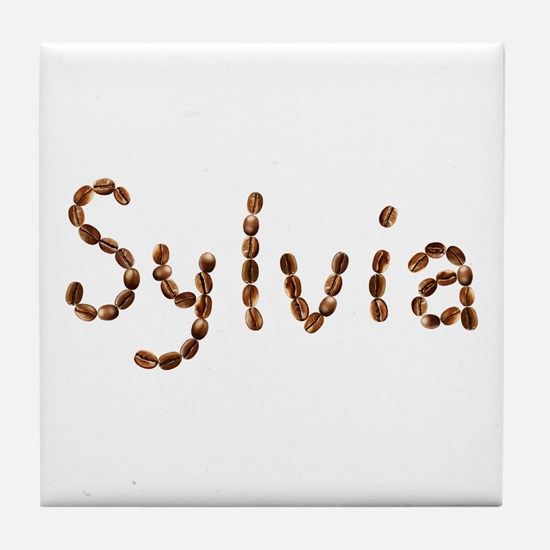 Sylvia Coffee Beans Tile Coaster