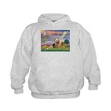 Cloud Angel Aussie Terrier Hoodie