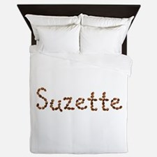 Suzette Coffee Beans Queen Duvet