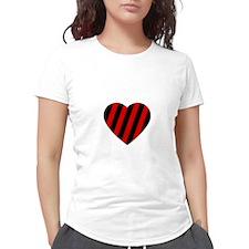 Love Cara Women's Plus Size V-Neck Dark T-Shirt