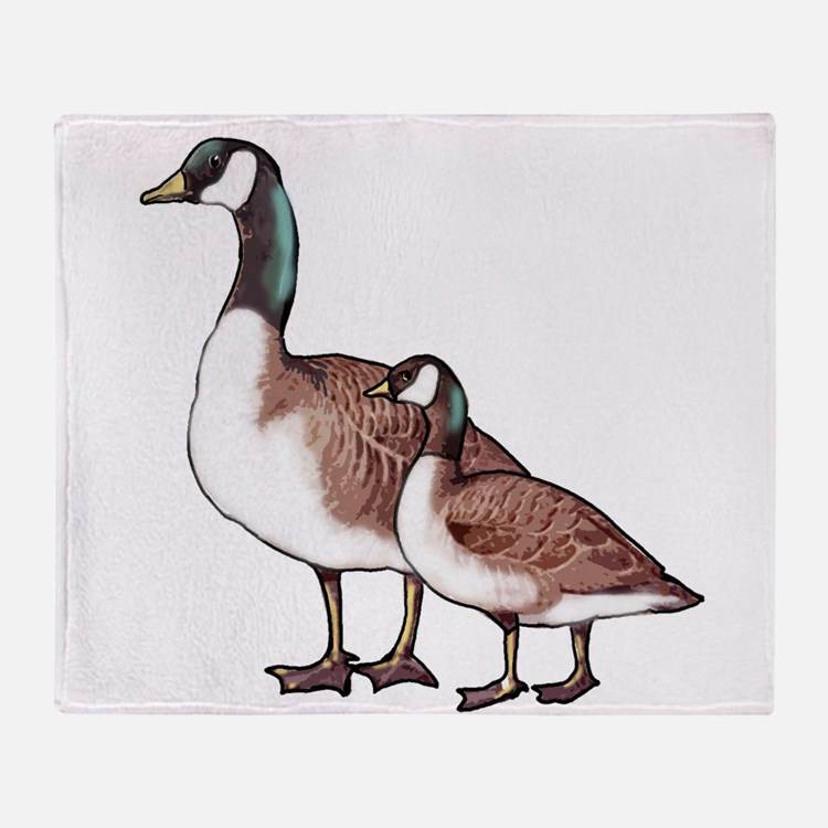 Canada Geese Throw Blanket