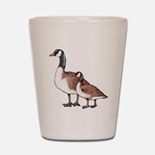 Canada Geese Shot Glass