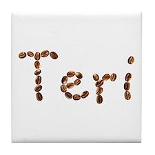 Teri Coffee Beans Tile Coaster