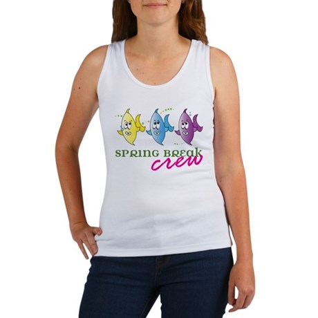 Spring Break Crew Women's Tank Top
