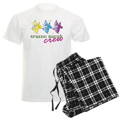 Spring Break Crew Men's Light Pajamas