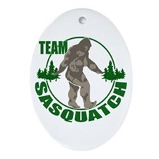 Team Sasquatch Ornament (Oval)