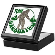 Team Sasquatch Keepsake Box