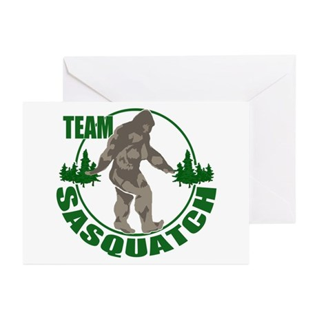 Team Sasquatch Greeting Cards (Pk of 10)