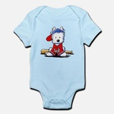 Westie Diamond In The Ruff Infant Bodysuit