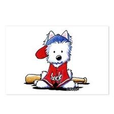 Westie Diamond In The Ruff Postcards (Package of 8
