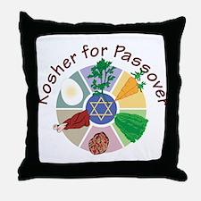 Kosher For Passover Throw Pillow