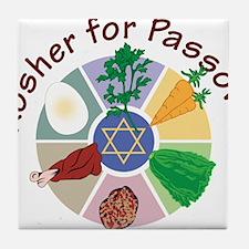 Kosher For Passover Tile Coaster