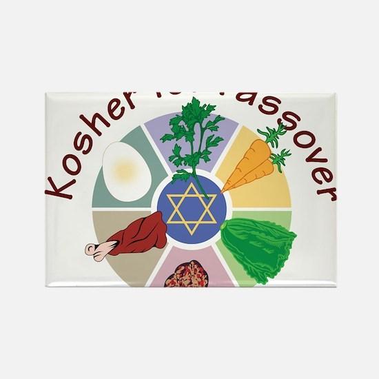 Kosher For Passover Rectangle Magnet