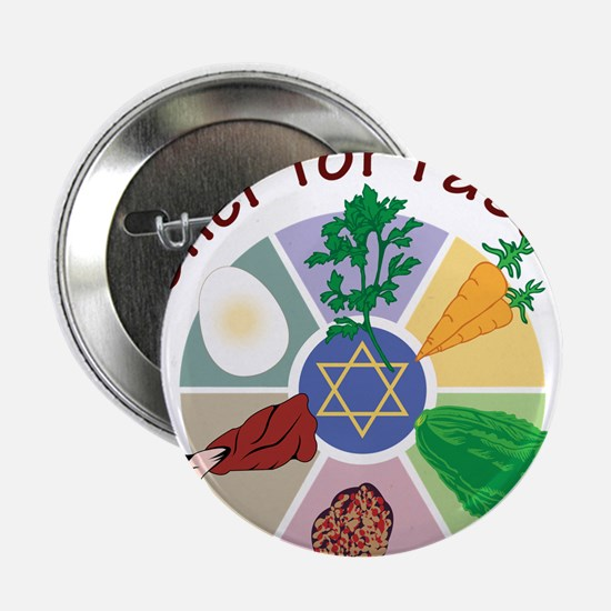 "Kosher For Passover 2.25"" Button"