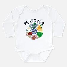 Passover Long Sleeve Infant Bodysuit