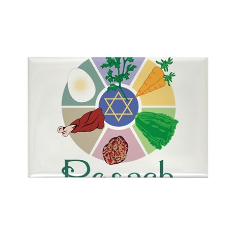 Pesach Rectangle Magnet