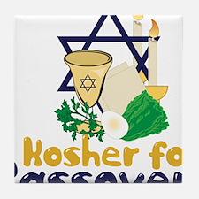 Kosher 4 Passover Tile Coaster