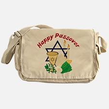 Happy Passover Messenger Bag