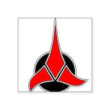 """38 x 24 Klingon 2.png Square Sticker 3"""" x 3"""""""