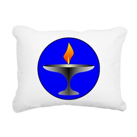 uuround.png Rectangular Canvas Pillow