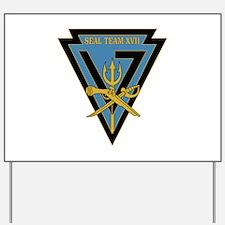SEAL Team 17 Yard Sign