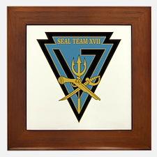 SEAL Team 17 Framed Tile