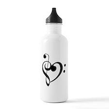 Treble Heart Water Bottle