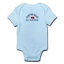 Hampton Beach NH - Nautical Design. Infant Bodysui