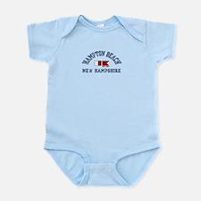 Hampton Beach NH - Nautical Design. Infant Bodysui