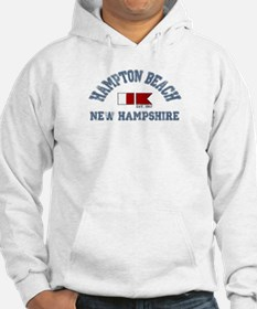 Hampton Beach NH - Nautical Design. Hoodie