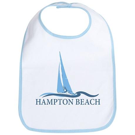 Hampton Beach NH - Sailboat Design. Bib