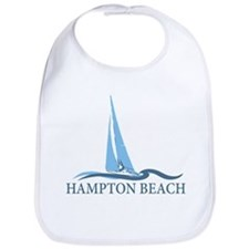 Hampton Beach NH - Sailboat Design. Bib