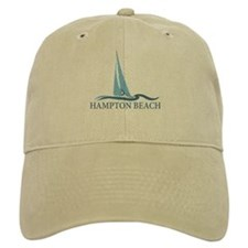 Hampton Beach NH - Sailboat Design. Baseball Cap