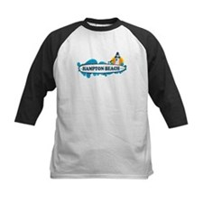 Hampton Beach NH - Surf Design. Tee