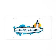 Hampton Beach NH - Surf Design. Aluminum License P