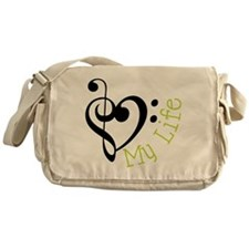 Love My Life Messenger Bag