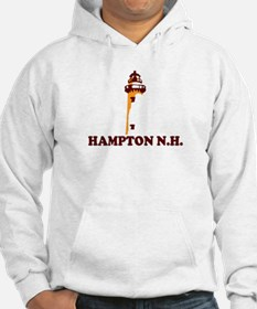 Hampton Beach NH - Lighthouse Design. Hoodie