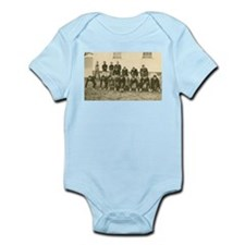 Vintage Football Team Real photo Postcard Infant B